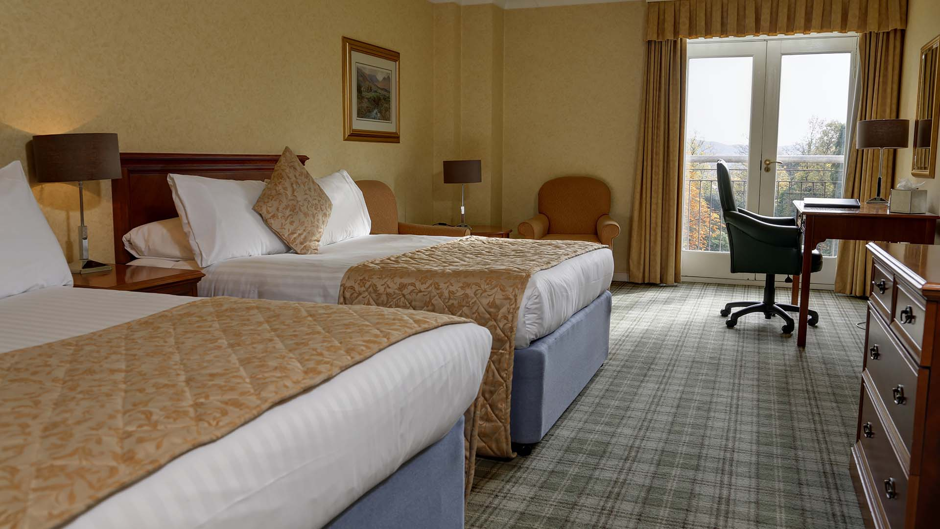 4 star Hotels in Sheffield Mercure Sheffield Kenwood Hall Hotel and Spa Twin Room