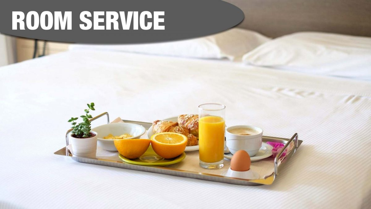 Room Service at Mercure Sheffield Kenwood Hall Hotel & Spa