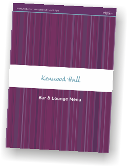 Mercure Sheffield Kenwood Hall Hotel & Spa Bar & Lounge Menu
