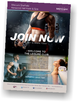 Mercure Sheffield Kenwood Hall Hotel & Spa Leisure Club Membership