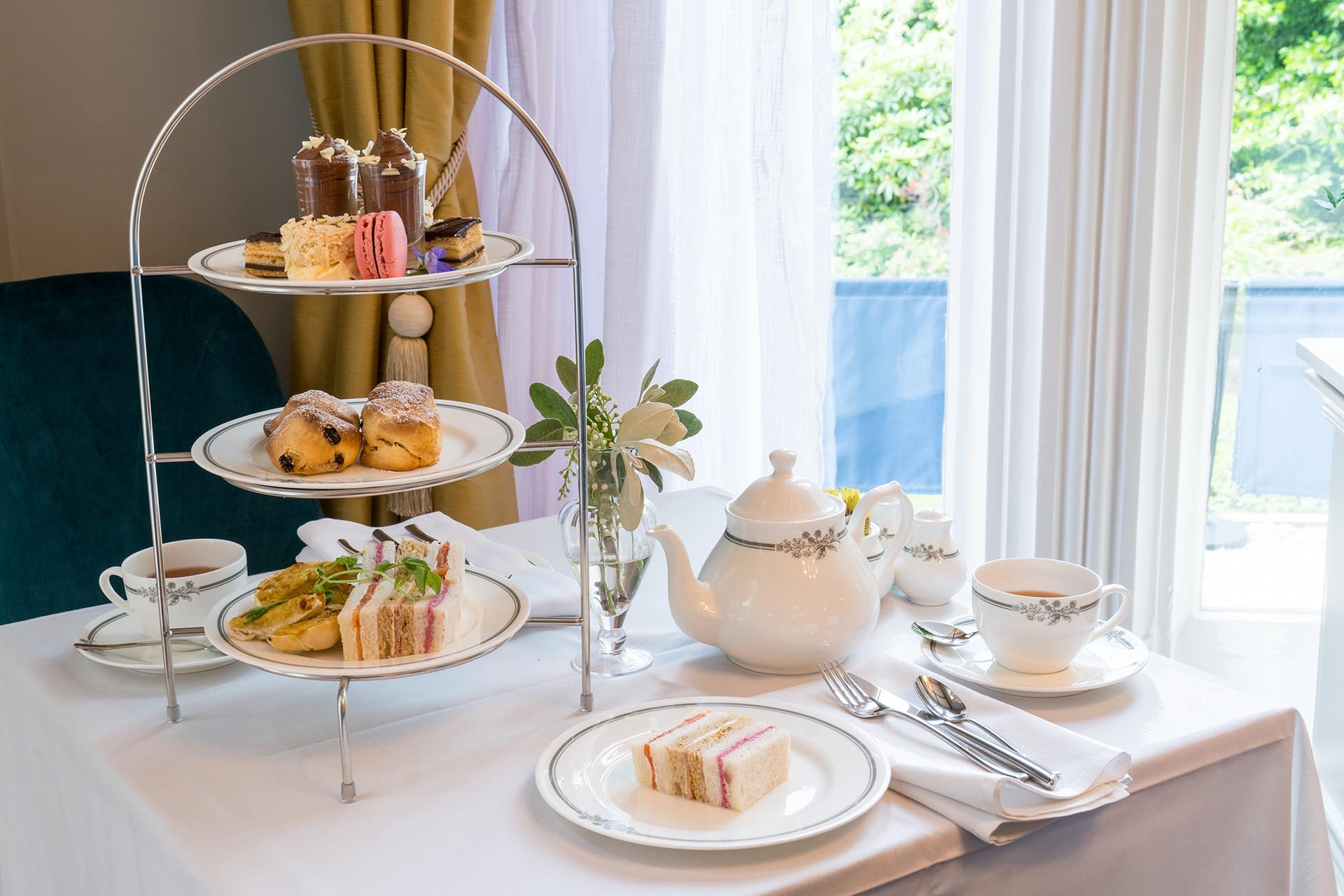 Afternoon Tea in Sheffield - Kenwood Hotels - Laura Ashley Tea Room