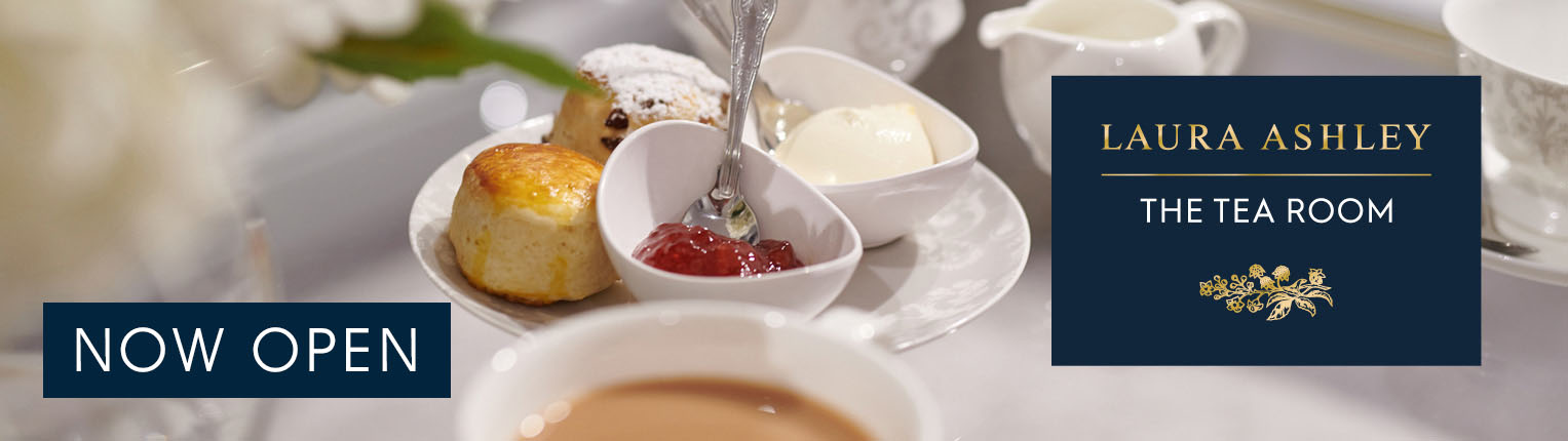 Laura Ashley Tea Room at Kenwood Hall Hotel & Spa Sheffield NOW open footer