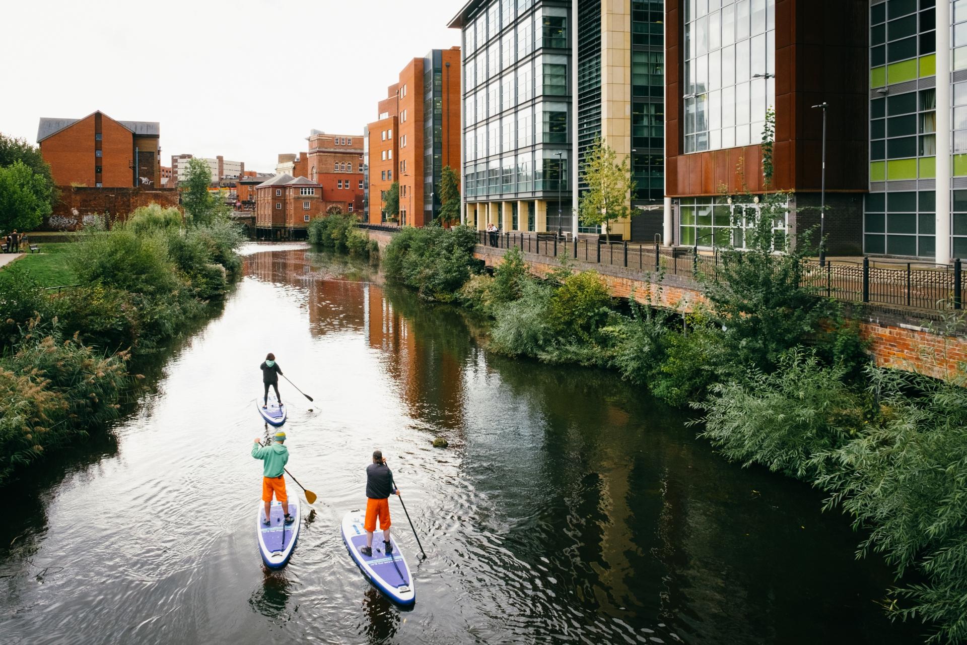 paddle boating Sheffield