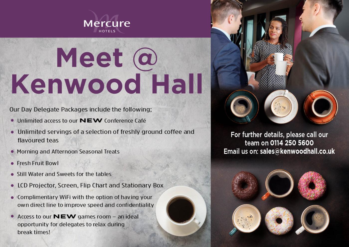 Mercure Kenwood Hotel Sheffield Conference Cafe 1